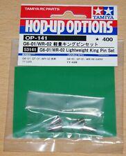 Tamiya 53141 G6-01/WR-02 Lightweight King Pin Set, TT02B/TA01/TL01/M03/M04/GF-01