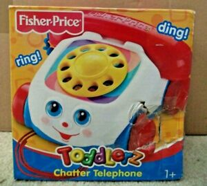 FISHER PRICE TODDLERZ CHATTER TELEPHONE 2003 77816 *NEW*