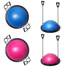Bosu Ball Balance Trainer Yoga Stabilizer Pilates Fitness Resistance Bands
