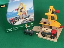 BRIO FREIGHT GOODS STATION for THOMAS & Friends Wooden Railway TRAIN ENGINE set