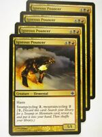 MTG Magic: The Gathering Cards: IGNEOUS POUNCER x4:Alara Reborn