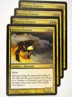 MTG Magic: The Gathering Cards: IGNEOUS POUNCER x4:Alara Reborn