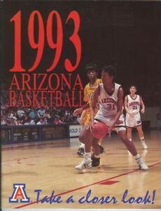 1993 Arizona Women's Basketball Yearbook Autographed