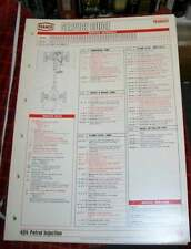 PEUGEOT 404 PETROL INJECTION TEXACO SERVICE GUIDE.