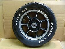 Kawasaki 454 LTD EN EN450 Used Rear Wheel 1986 #KW36