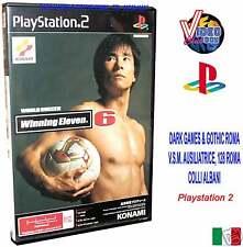 WINNING ELEVEN 6 PS2 KONAMI NTSC / J SONY PS2 ORIGINALE