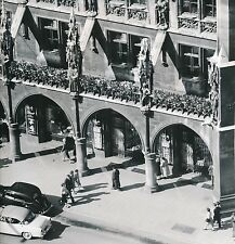 ALLEMAGNE c. 1958 - Autos Commerces L'Hôtel de Ville  Munich  - Div 10428