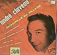 ANDRE CLAVEAU EP FRANCE QUADRILLE AU VILLAGE