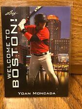 2015 Leaf YOAN MONCADA National Convention Welcome to Boston! #WTB-YM1