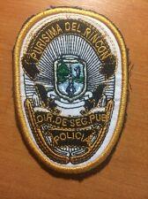 PATCH POLICE MEXICO - PURISMA DEL RINCON - ORIGINAL!