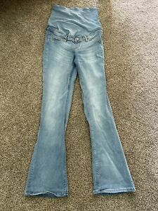 Mama (h&m) Bootcut Size 10 Light Wash Denim Jeans