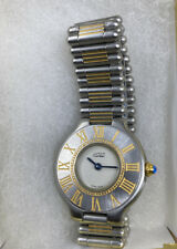 Cartier Must De 21,Authentic Swiss Ladies Watch,SS/Gold Swiss Quartz