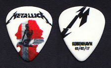 Metallica James Hetfield Copenhagen 2/3/17 Guitar Pick - 2017 WorldWired Tour