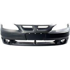 Front Bumper Cover For 99-2005 Pontiac Grand Am w/ fog lamp holes Primed
