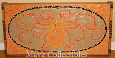 Mid Century Evelyn Ackerman Style MosaicTile Wall Hanging Or Table Top Octopus