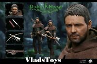 Chivalrous Robin Hood Russell Crow 1/6 Scale figure PopToys EX021 USA In Stock