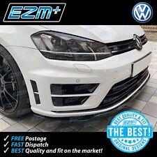 EZM VW Golf R 7 MK7 Bumper Vent Insert Indent Stickers Decals GLOSS BLACK