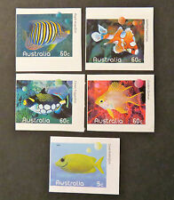 Australian Decimal Stamps: 2010 Fishes of the Reef-Part 1 - Set of 5 P&S MNH