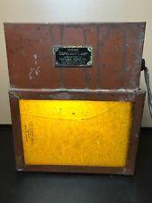 Vintage Kodak Safelite Lamp. Dark Room Film Clip Lantern. It Works!