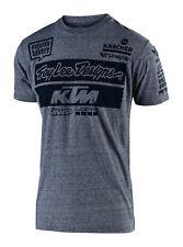 TROY LEE DESIGNS 2019 Team TLD KTM T-Shirt - Gray Snow