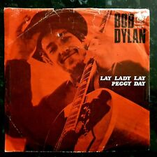"""Bob Dylan - Lay Lady Lay / Peggy Day - 1969 Norweigan 7"""" P/S"""