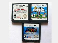 3 Pcs Mario Kart DS+New Super Mario Bros+Super Mario 64 DS Version for Nintendo