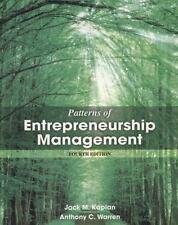 Patterns of Enterpreneurship Management 4th Int'l Edition