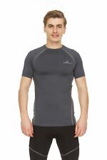 Thermajohn Men Short Sleeve Baselayer Compression T-Shirt for Athletic Workout