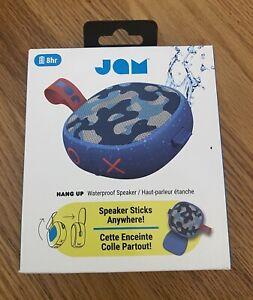 JAM Audio Hang Up, Shower Bluetooth Speaker  8 Hour Playtime, Waterproof