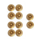 10 Pcs Gold Top Head Guitar Control Knob for Speed Knob Replacement