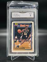1992-93 Topps Gold Basketball #4 David Robinson GMA Graded 8 NM-MINT