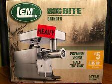 LEM BIG BITE Electric Meat Grinder #5 Model 1777  .35 HP