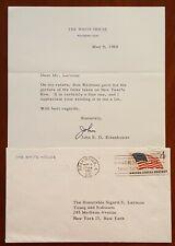 John Eisenhower, Son of President * Signed White House Letter * re Parents Photo