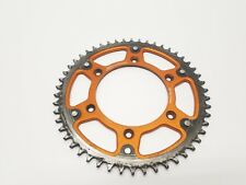 2008 08 KTM 450 SXF 450SXF Rear Wheel Sprocket Chain Drive Orange 50T 50 Tooth T