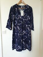 Poetry Silk Blend Relaxed Style Abstract Dress Size 12