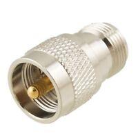 Adaptador de RF Coaxial Recto UHF Macho PL259 a N Hembra M / H I6E2