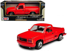1992 GMC Sierra GT Red Pickup Truck 1:24 Diecast Model Motormax - 73204RD *