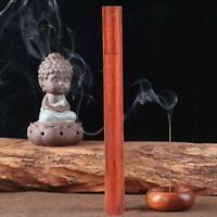 20g Natural Wood Incense Tube Holder Rosewood For Sleep Health Home Decor