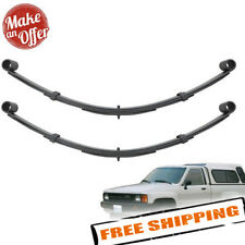 "Pro Comp Front Left & Right 4"" Lifted Leaf Springs for 1980-1985 Toyota 4Runner"