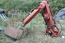 TWOSE rear mounted hedge cutter
