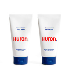 New listing Mens Daily Face Wash Creamy Cleanser Natural Exfoliants Clears Away Dirt Oil Pol