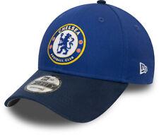 Chelsea FC New Era 940 Suede Visor Blue Team Cap