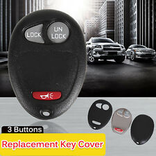 New Replacement Remote Keyless Entry Key Fob Clicker Shell Case Housing Pad Fix