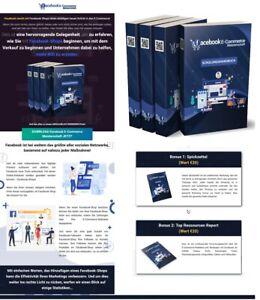 Facebook E-Commerce Meisterschaft - eBook, PLR Lizenz Komplettpaket - Brandneu