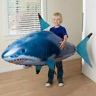 RC Shark Air Balloon Toy Swimming Fish Animal Kid Toy Gift Party Decor Play Fun