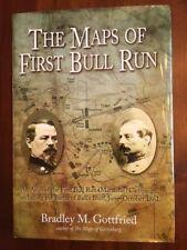 RARE Atlas Maps of First Bull Run, Manassas Campaign, Battle Ball's Bluff, 1861