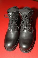 DOLCE & GABBANA  D&G Lace-up Black Hiking Boots, Men's (EU 43) US 9.5/10, New