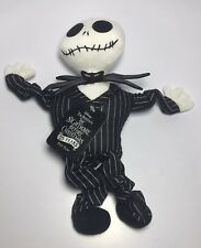 New Disney's The Nightmare before Christmas Squeaky Toy Plush Jack Skellington