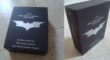 THE DARK KNIGHT TRILOGY all 3 movies BOXED Blu-Ray SteelBook & BOOK Batman