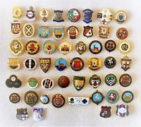 VINTAGE BOWLING CLUB COUNTY & ASSOCIATION BADGES - ALL LISTED WITH PHOTO'S LOT 6